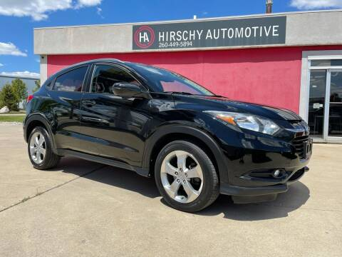 2016 Honda HR-V for sale at Hirschy Automotive in Fort Wayne IN