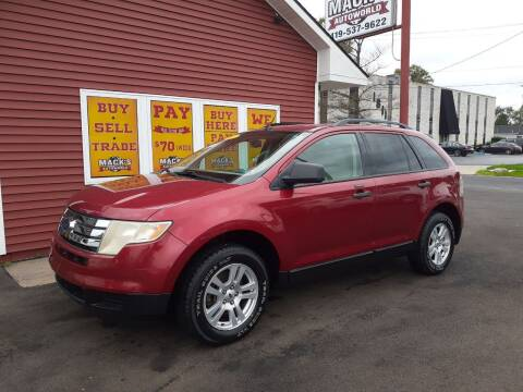 2007 Ford Edge for sale at Mack's Autoworld in Toledo OH