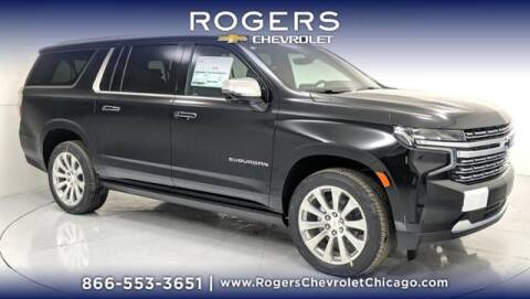 2021 Chevrolet Suburban for sale at ROGERS  AUTO  GROUP in Chicago IL