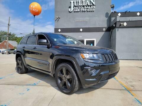 2015 Jeep Grand Cherokee for sale at Julian Auto Sales, Inc. in Warren MI
