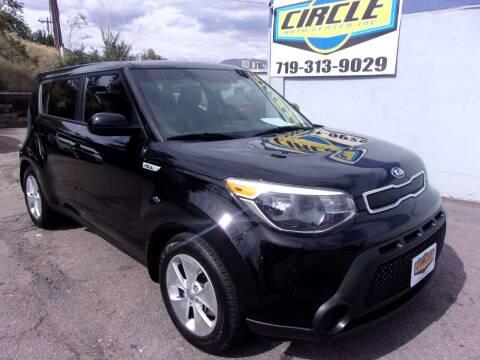 2015 Kia Soul for sale at Circle Auto Center in Colorado Springs CO