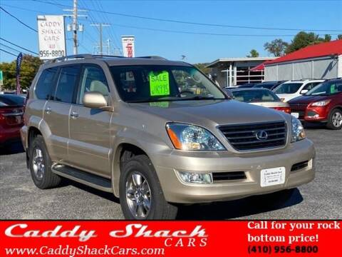 2008 Lexus GX 470 for sale at CADDY SHACK CARS in Edgewater MD