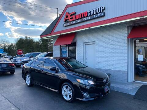 2013 Toyota Camry for sale at AG AUTOGROUP in Vineland NJ
