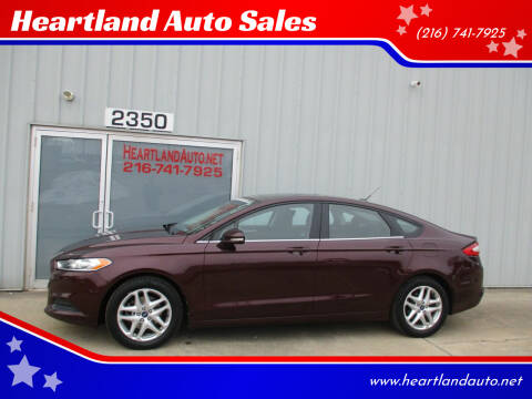 2013 Ford Fusion for sale at Heartland Auto Sales in Medina OH