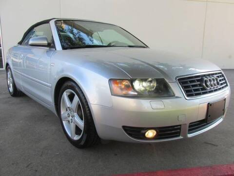 2005 Audi A4 for sale at QUALITY MOTORCARS in Richmond TX