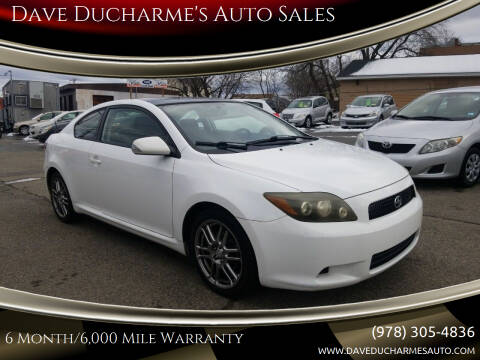 2008 Scion tC for sale at Dave Ducharme's Auto Sales in Lowell MA