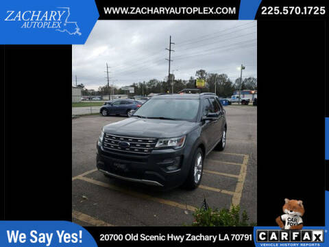 2017 Ford Explorer for sale at Auto Group South in Natchez MS