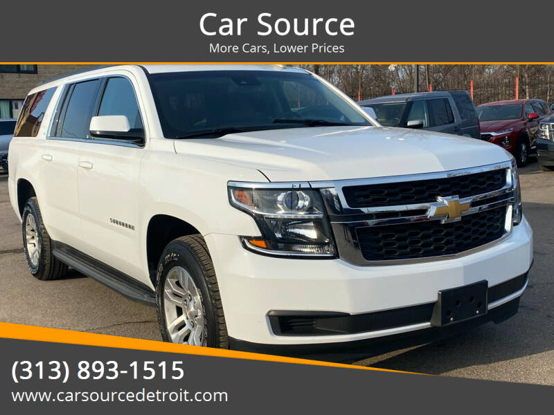 2017 Chevrolet Suburban for sale at Car Source in Detroit MI