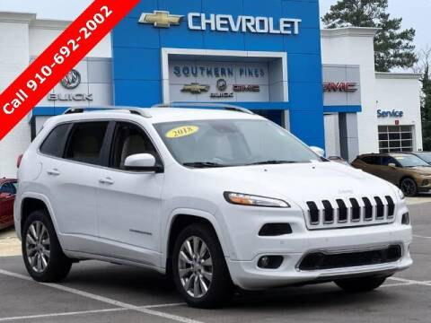 2018 Jeep Cherokee for sale at PHIL SMITH AUTOMOTIVE GROUP - SOUTHERN PINES GM in Southern Pines NC