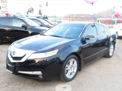 2010 Acura TL for sale at Luxor Motors Inc in Pacoima CA