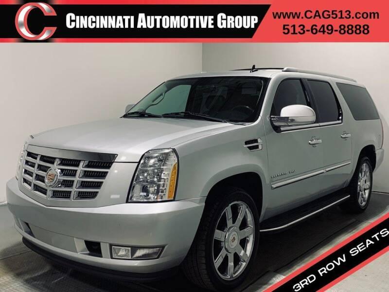 2013 Cadillac Escalade ESV for sale at Cincinnati Automotive Group in Lebanon OH