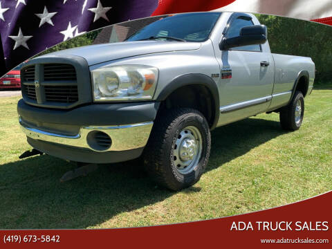 2007 Dodge Ram Pickup 2500 for sale at Ada Truck Sales in Ada OH