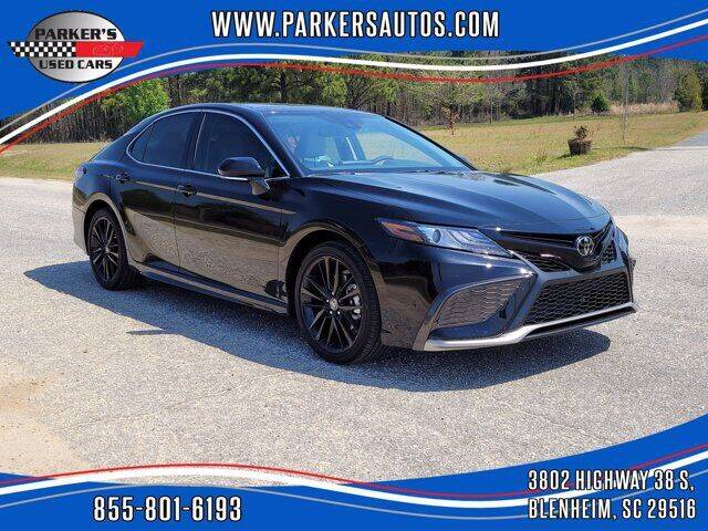 2021 Toyota Camry for sale at Parker's Used Cars in Blenheim SC