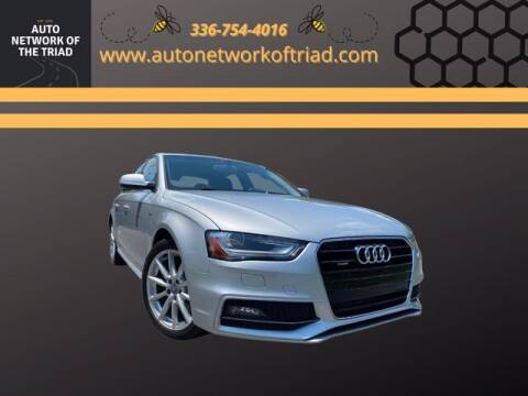 2014 Audi A4 for sale at Auto Network of the Triad in Walkertown NC