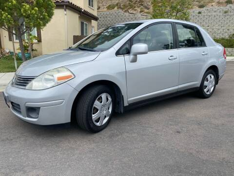 2008 Nissan Versa for sale at CALIFORNIA AUTO GROUP in San Diego CA