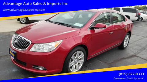 2013 Buick LaCrosse for sale at Advantage Auto Sales & Imports Inc in Loves Park IL
