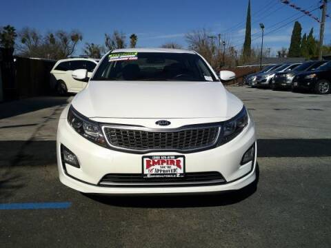 2016 Kia Optima Hybrid for sale at Empire Auto Sales in Modesto CA
