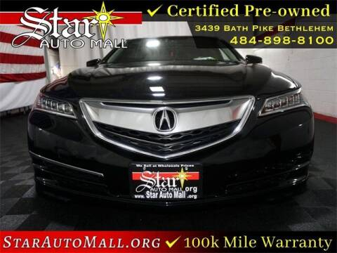 2017 Acura TLX for sale at STAR AUTO MALL 512 in Bethlehem PA
