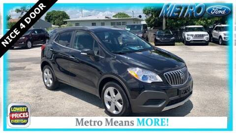 2016 Buick Encore for sale at Your First Vehicle in Miami FL