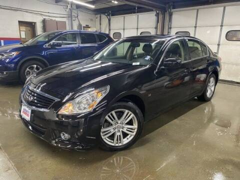 2015 Infiniti Q40 for sale at Sonias Auto Sales in Worcester MA