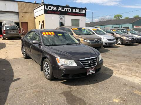 2010 Hyundai Sonata for sale at Lo's Auto Sales in Cincinnati OH