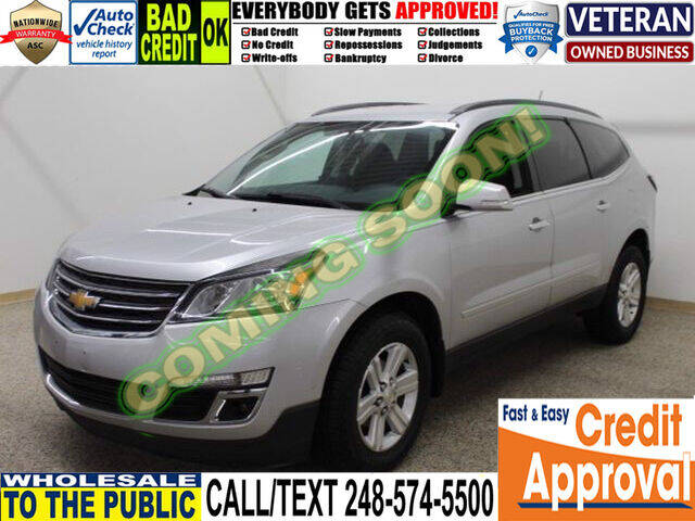 2013 Chevrolet Traverse for sale at North Oakland Motors in Waterford MI