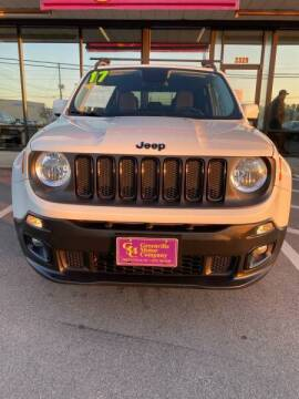 2017 Jeep Renegade for sale at Greenville Motor Company in Greenville NC