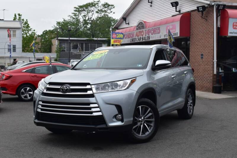 2018 Toyota Highlander for sale at Foreign Auto Imports in Irvington NJ