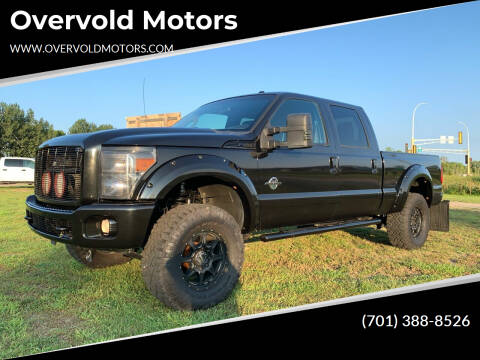 2011 Ford F-250 Super Duty for sale at Overvold Motors in Detroit Lakes MN