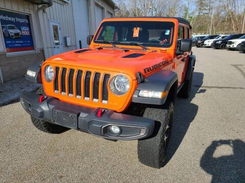 2018 Jeep Wrangler Unlimited for sale at Medway Imports in Medway MA