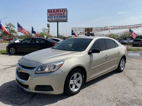 2015 Chevrolet Malibu for sale at Mario Motors in South Houston TX