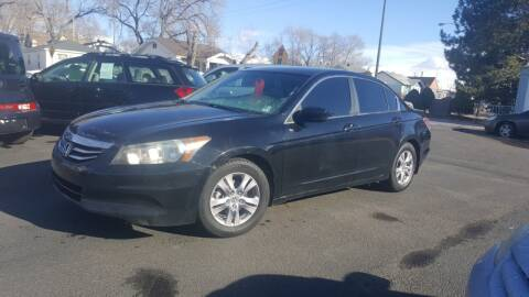 2012 Honda Accord for sale at BRAMBILA MOTORS in Pocatello ID