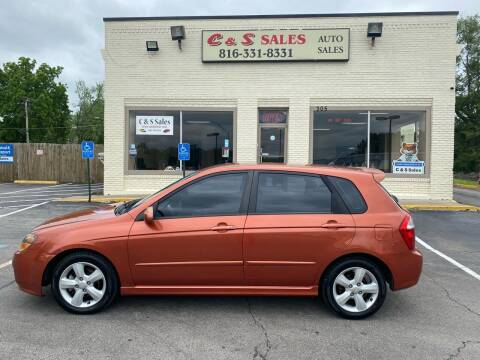 2008 Kia Spectra for sale at C & S SALES in Belton MO