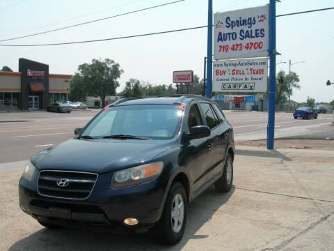 2007 Hyundai Santa Fe for sale at Springs Auto Sales in Colorado Springs CO