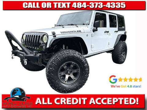 2016 Jeep Wrangler Unlimited for sale at World Class Auto Exchange in Lansdowne PA