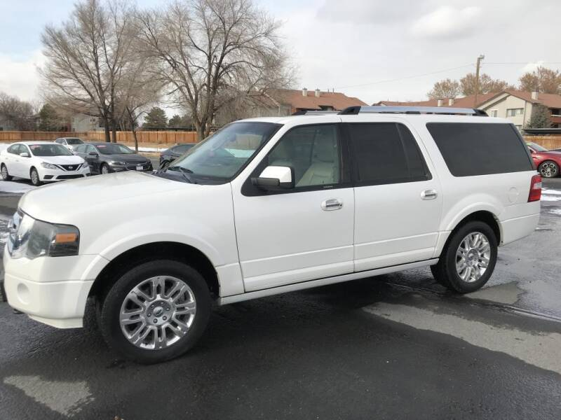 2012 Ford Expedition EL for sale at INVICTUS MOTOR COMPANY in West Valley City UT