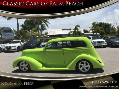 1935 Plymouth Deluxe for sale at Classic Cars of Palm Beach in Jupiter FL