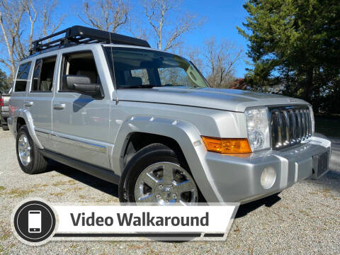 2006 Jeep Commander for sale at Byron Thomas Auto Sales, Inc. in Scotland Neck NC