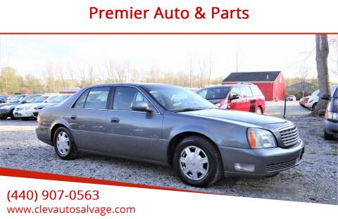 2004 Cadillac DeVille for sale at Premier Auto & Parts in Elyria OH