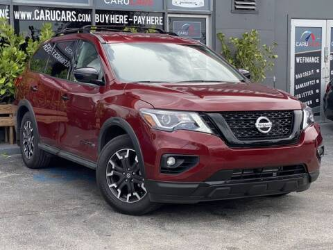 2020 Nissan Pathfinder for sale at CARUCARS LLC in Miami FL