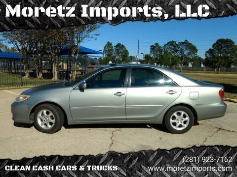 2005 Toyota Camry for sale at Moretz Imports, LLC in Spring TX