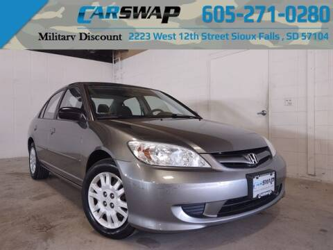 2005 Honda Civic for sale at CarSwap in Sioux Falls SD