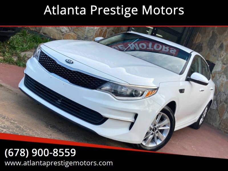 2016 Kia Optima for sale at Atlanta Prestige Motors in Decatur GA