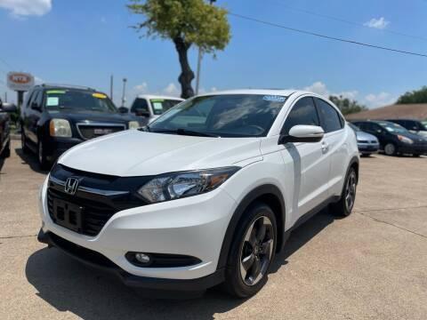2018 Honda HR-V for sale at CityWide Motors in Garland TX