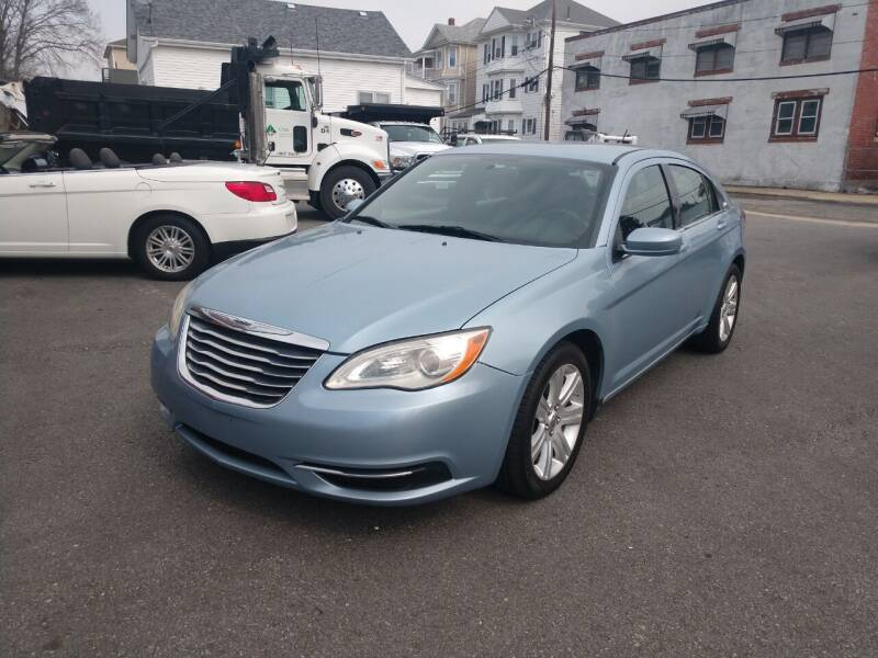 2014 Chrysler 200 for sale at A J Auto Sales in Fall River MA