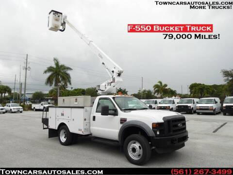 2008 Ford F-550 Super Duty for sale at Town Cars Auto Sales in West Palm Beach FL