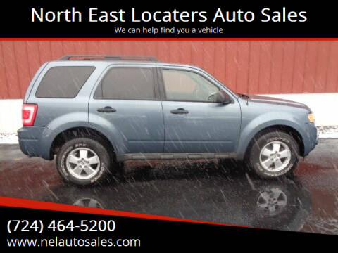 2011 Ford Escape for sale at North East Locaters Auto Sales in Indiana PA