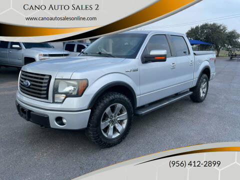2011 Ford F-150 for sale at Cano Auto Sales 2 in Harlingen TX