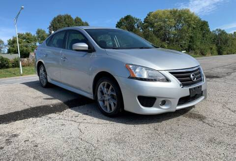 2013 Nissan Sentra for sale at InstaCar LLC in Independence MO