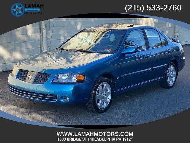 2004 Nissan Sentra for sale at LAMAH MOTORS INC in Philadelphia PA